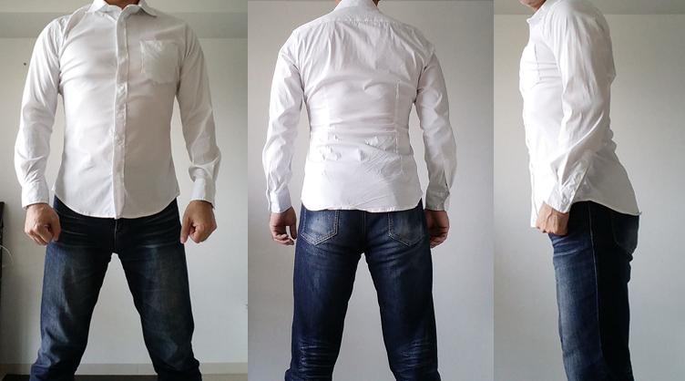 ブルーブルドックのシャツ