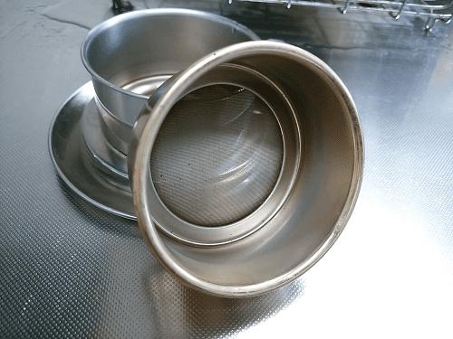 ステンレスメッシュのコーヒードリッパー