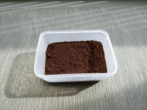 コーヒーかすの利用方法