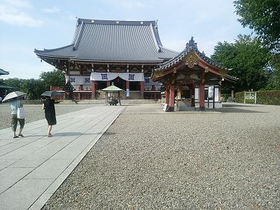池上本門寺の本堂
