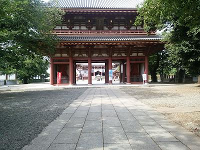 池上本門寺の山門