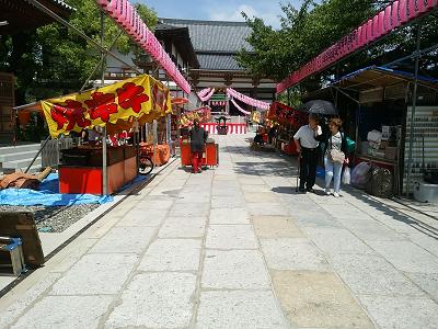 西新井大師の参道