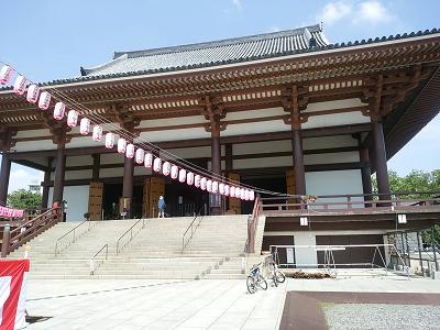 西新井大師の本堂