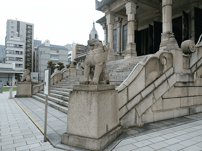 築地本願寺の狛犬