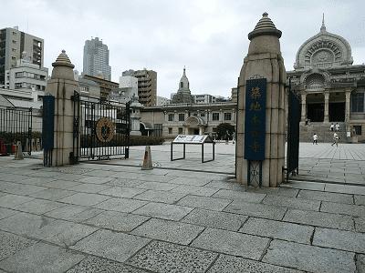 築地本願寺入り口