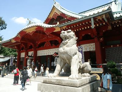 神田神社の狛犬(右)