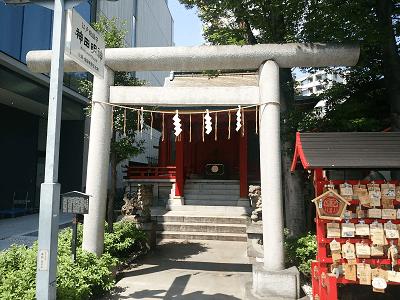 築地魚河岸 水神社