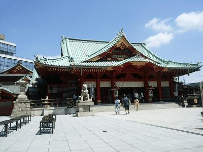 神田神社の御社殿