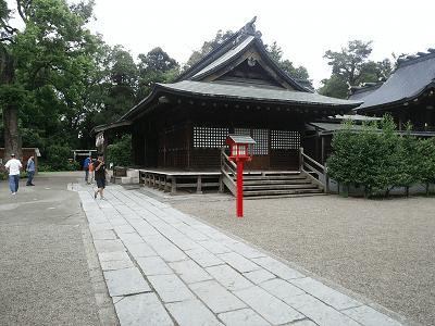 鷲宮神社の拝殿