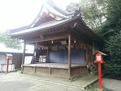 鷲宮神社の神楽殿