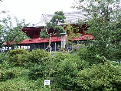 清水観音堂(東叡山寛永寺)