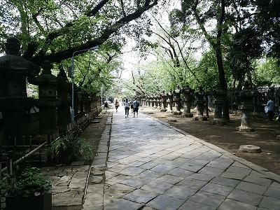 上野東照宮参道