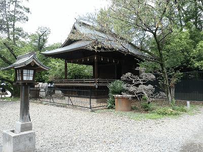 上野東照宮の神楽殿
