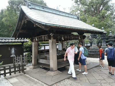 上野東照宮の手水舎