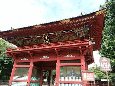 根津神社の楼門
