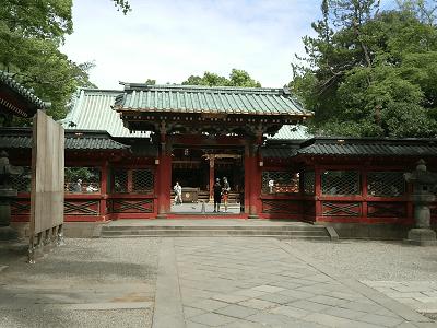 根津神社の唐門