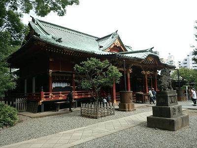 根津神社の社殿