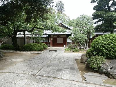 根津神社の社務所