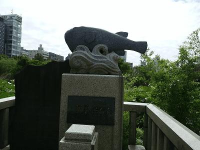 不忍池辯天堂(ふぐ供養碑)
