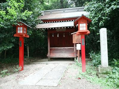 鷲宮神社(粟島神社)