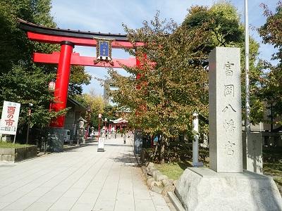 富岡八幡宮の正面鳥居