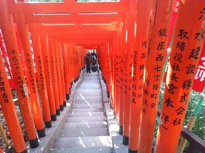 日枝神社の千本鳥居