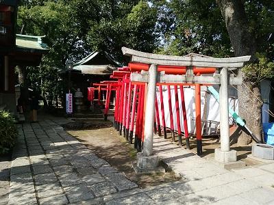 品川神社の千本鳥居