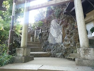 品川神社の鳥居