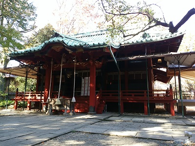 氷川神社の社殿