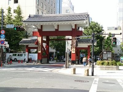 増上寺の大門