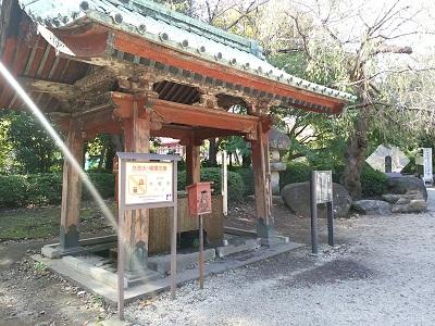 増上寺の手水舎