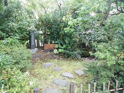 芝大神宮の庭園