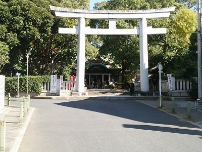 王子神社の正面鳥居