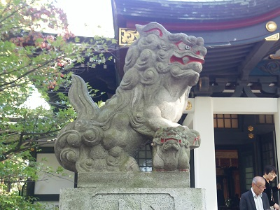 王子神社の狛犬