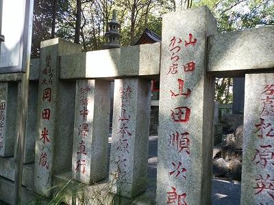 関神社の寄進者